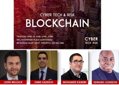Event Highlights – Cyber Tech & Risk – Blockchain (April 19, 2018)