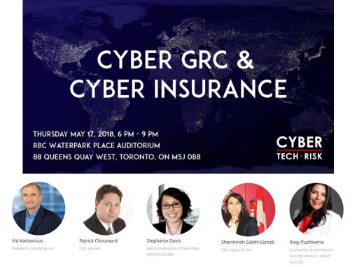 Event Highlights – Cyber GRC and Cyber Insurance (May 17, 2018)
