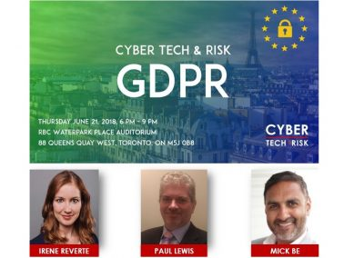 Event Highlights – GDPR (June 21, 2018)