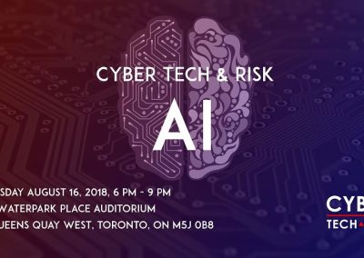 Cyber Tech & Risk – AI (Aug 16, 2018)