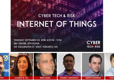 Event Highlights – Cyber Tech & Risk – IoT (Sept 20, 2018)