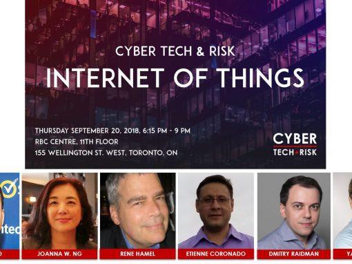 Event Highlights – Cyber Tech & Risk – IoT (Sept 20, 2018)
