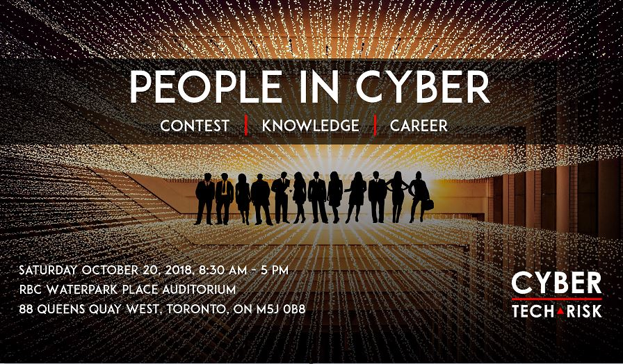 People in Cyber Conference (Oct 20, 2018)