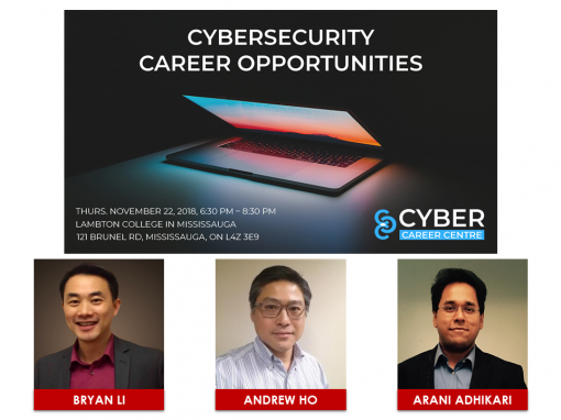 Event Highlights – Cybersecurity Career Opportunities (Nov 22, 2018)