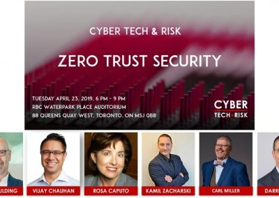 Event Highlights – Zero Trust Security (April 23, 2019)