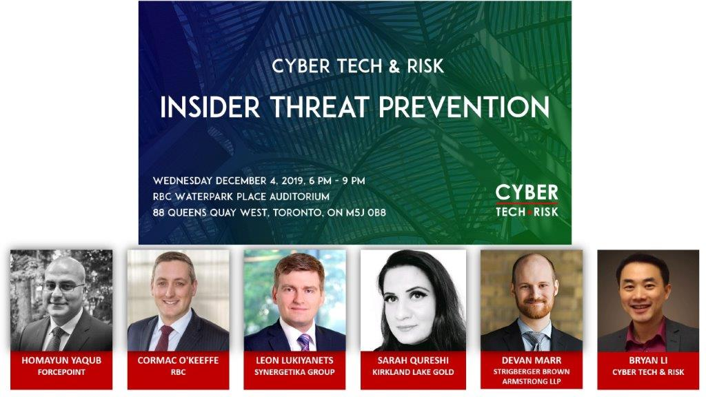 Event Highlights – Insider Threat Prevention (Dec 4, 2019)