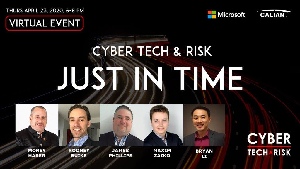 Virtual Event Highlights – Just In Time Security (April 23, 2020)