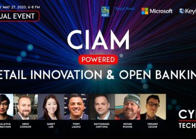 Virtual Event Highlights – CIAM Powered Retail Innovation and Open Banking (May 27, 2020)
