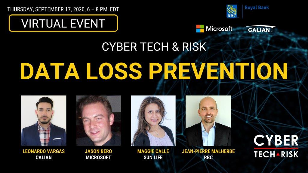 Virtual Event Highlights – Data Loss Prevention (Sept 17, 2020)