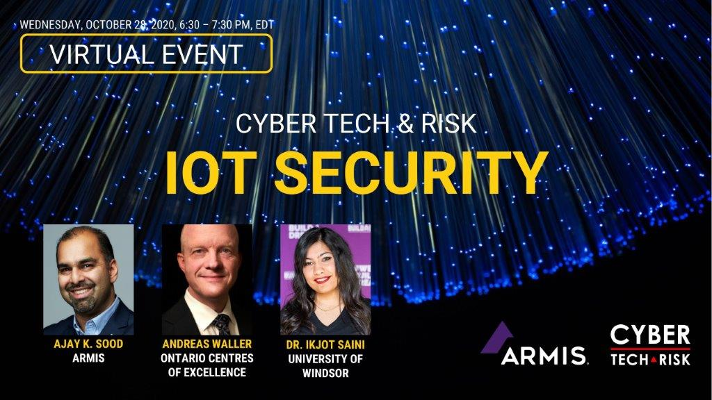 Virtual Event Highlights – IoT Security (Oct 28, 2020)
