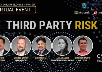 Virtual Event Highlights – Third Party Risk (Jan 28, 2021)