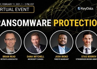Virtual Event Highlights – Ransomware Protection (Feb 11, 2021)