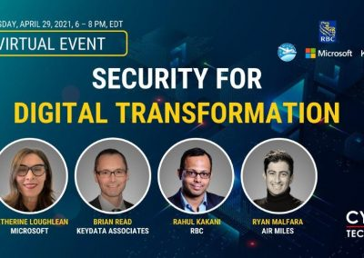 Virtual Event Highlights – Security for Digital Transformation (Apr 29, 2021)