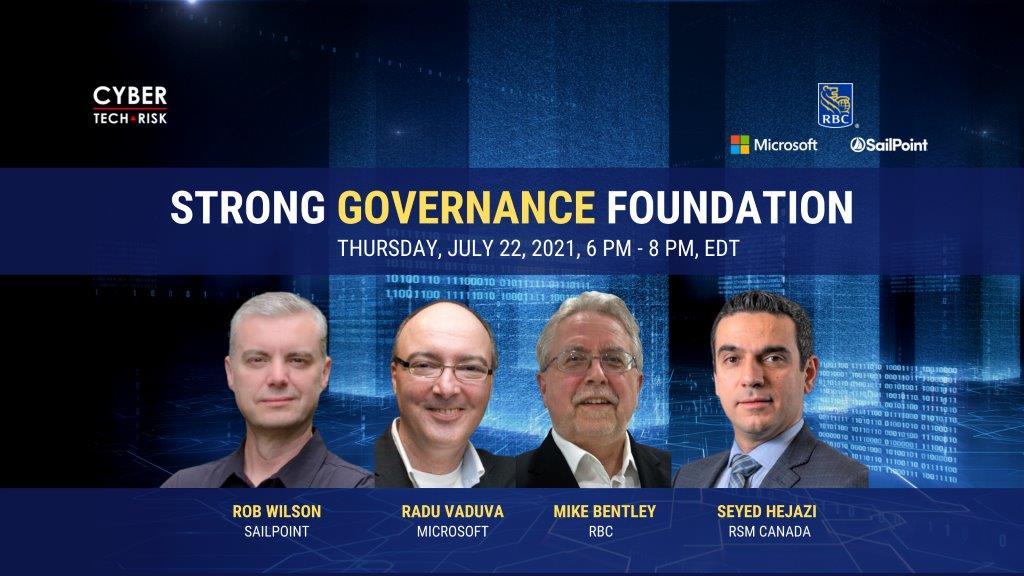 Virtual Event Highlights – Strong Governance Foundation  (July 22, 2021)