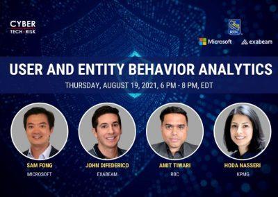 Virtual Event Highlights – UEBA (User Behavior and Entity Behavior Analytics) – August 19, 2021